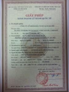 Giay phep LHQT