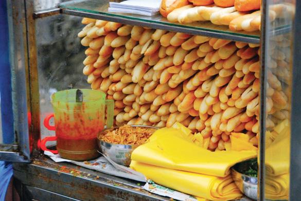 Bánh mì que nổi tiếng Hải Phòng