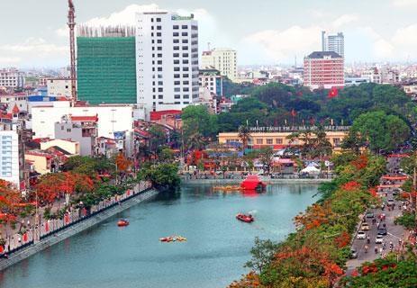 Phân luồng giao thông khu vực dải trung tâm thành phố Hải Phòng